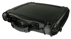 It Is A Clams Made Of Thick Very Black Plastic Inside Lined With Velcro Material That S Because The Case Comes